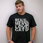 Real Men Love Cats shirt
