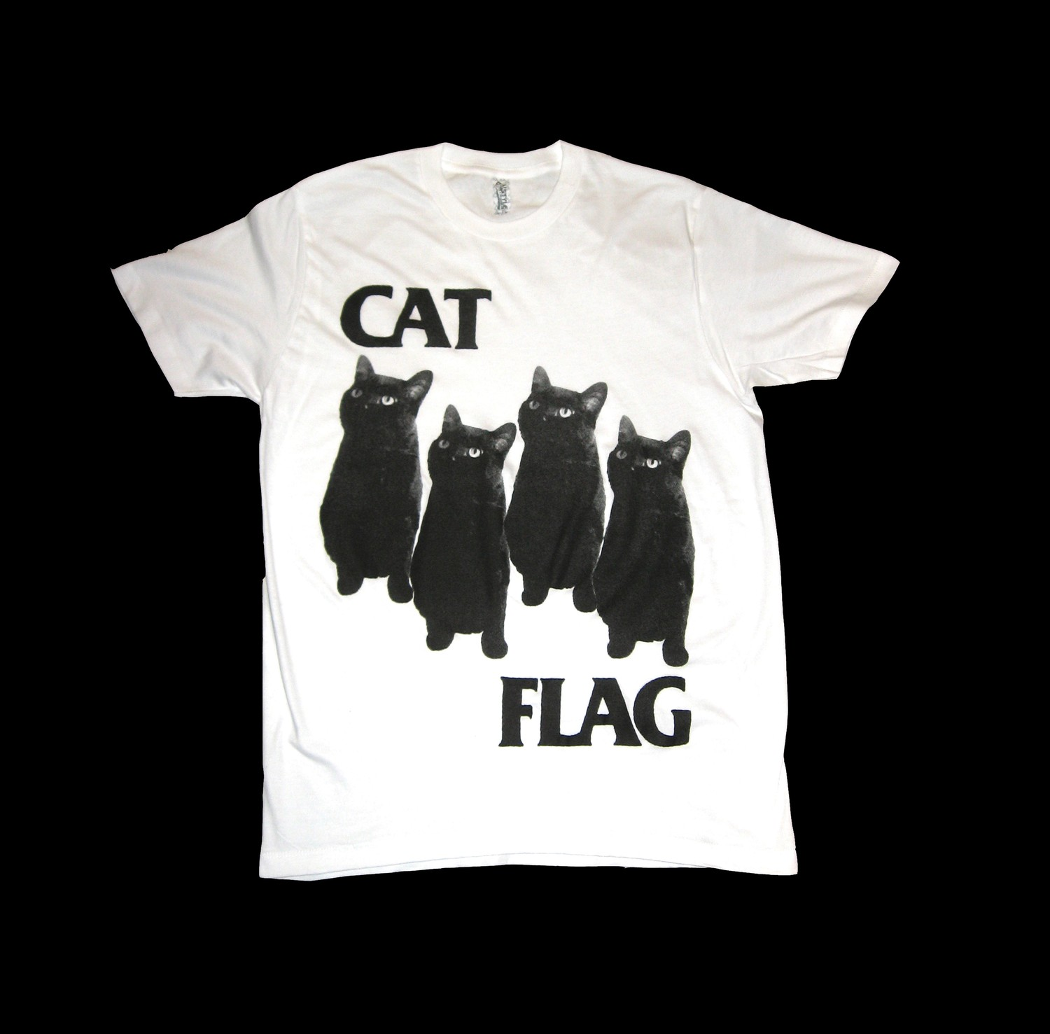 Cat Flag, Black Flag parody shirt
