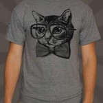 Nerd cat t-shirt